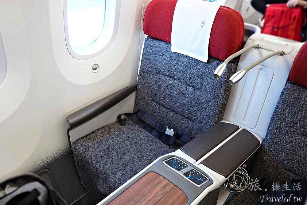 南美航空LATAM airlines 復活節島飛聖地牙哥商務艙體驗
