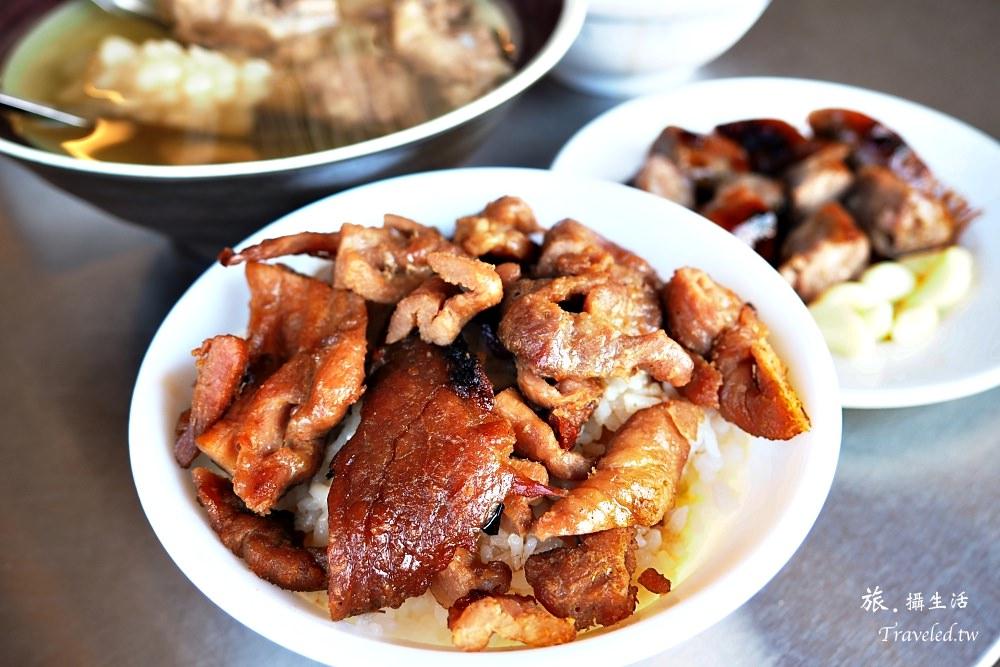 台南中西區.原大菜市百年老店燒肉飯