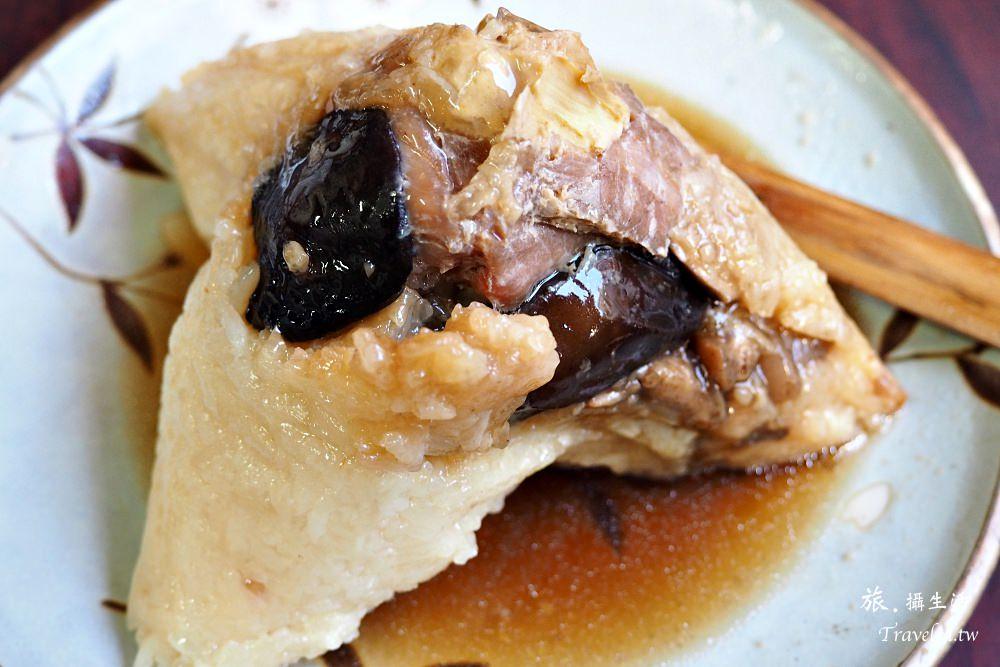 台南中西區.再發號肉粽,品嚐百年歷史的八寶粽子