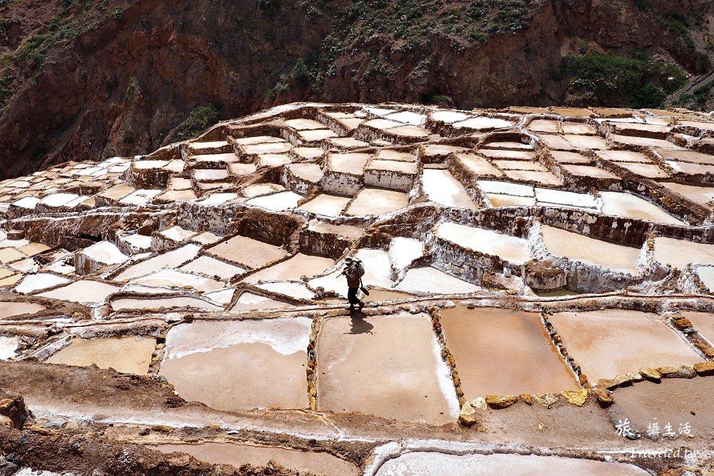 南美的天空.秘魯高山鹽田,高山深谷中閃閃發光的奇景