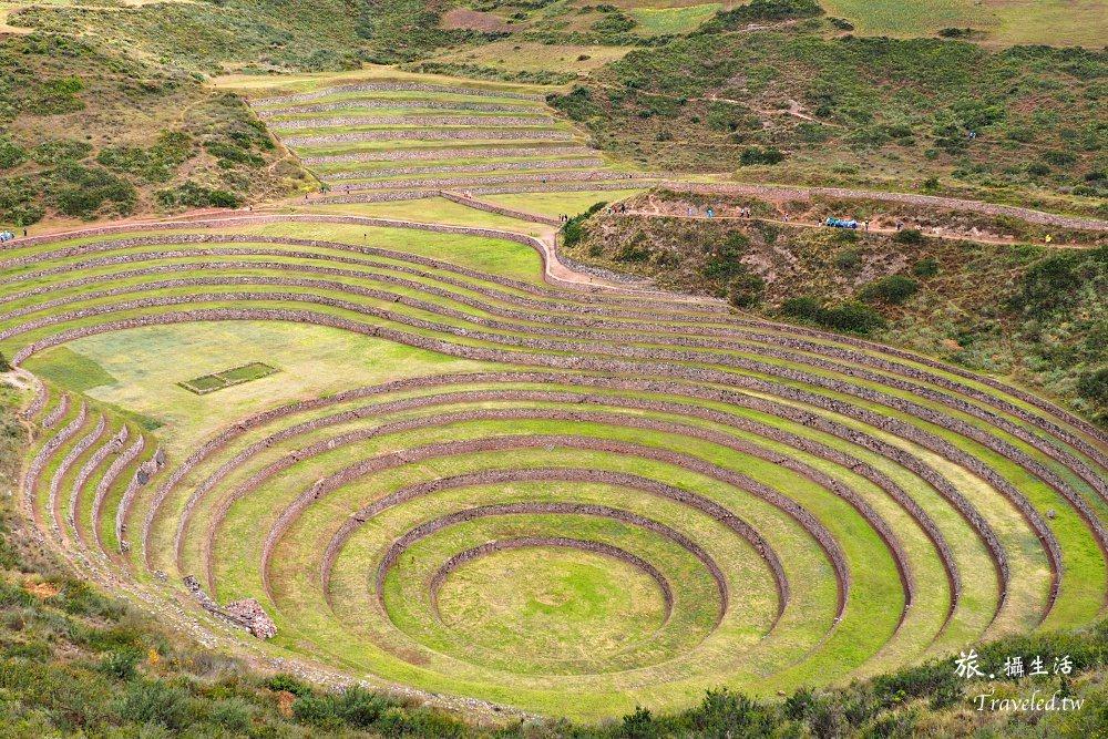 南美的天空.秘魯圓形梯田Moray,見證古印加偉大的農業技法。