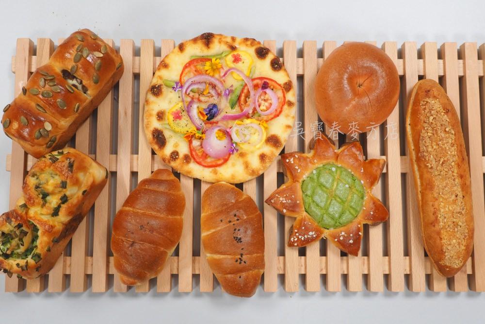 吳寶春麥方店台中店.更多台灣在地食材融合的美味麵包