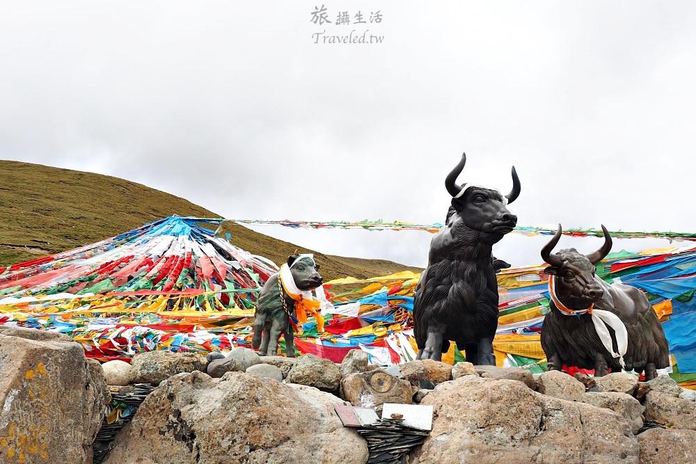 西藏遊記行,從巴松措一路拉車到拉薩。