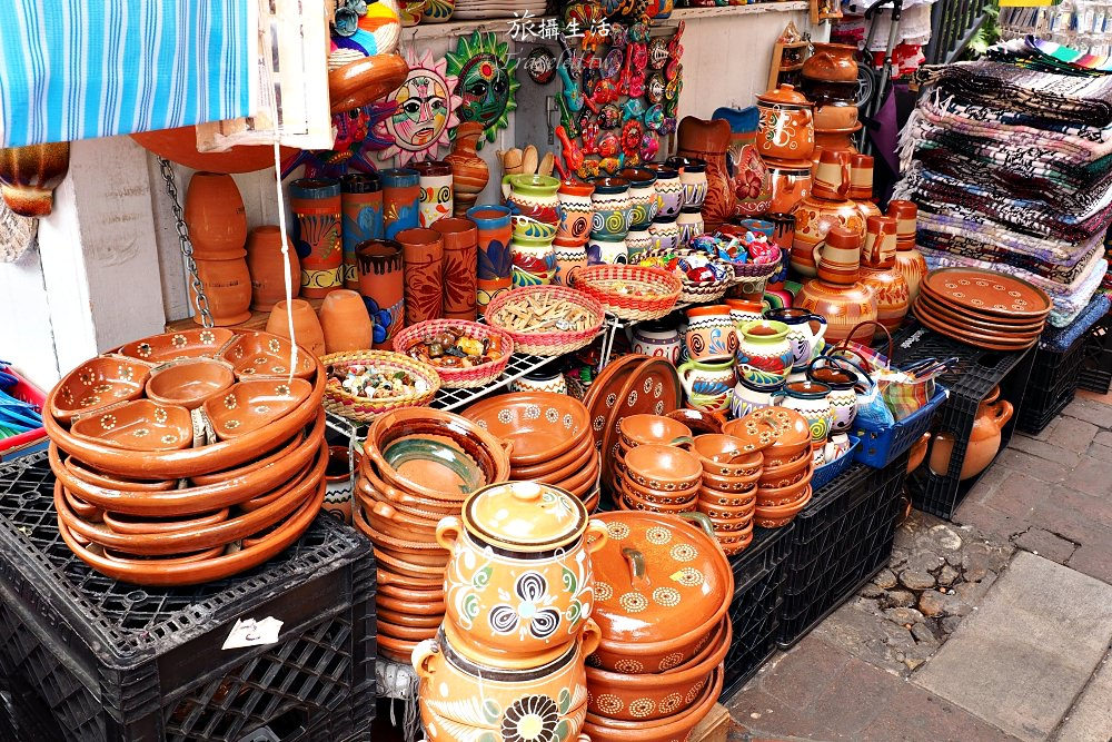 加州洛杉磯Olvera Street.充滿濃濃墨西哥風情的在地市集